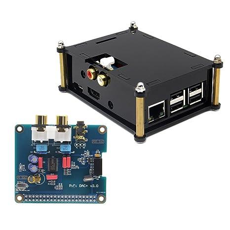 I2S Interface PIFI Digi + DAC HIFI tarjeta de sonido de ...