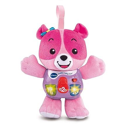 Amazon.com: Vtech bebé Cuddle y cantar, Cora, Rosado: Toys ...
