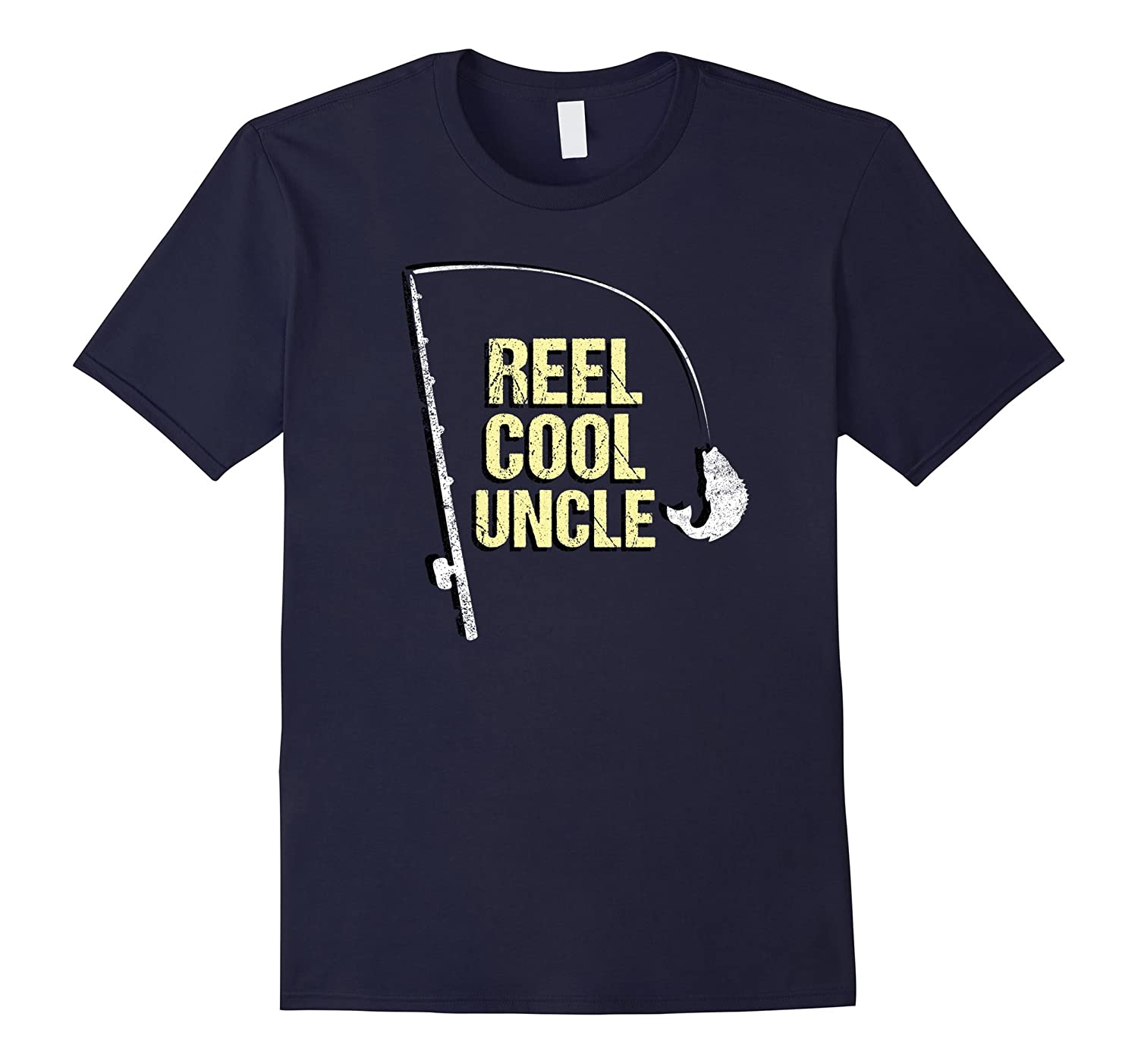 Fishing Uncle Shirt Fisherman Dad Fathers Day Gift Niece-BN