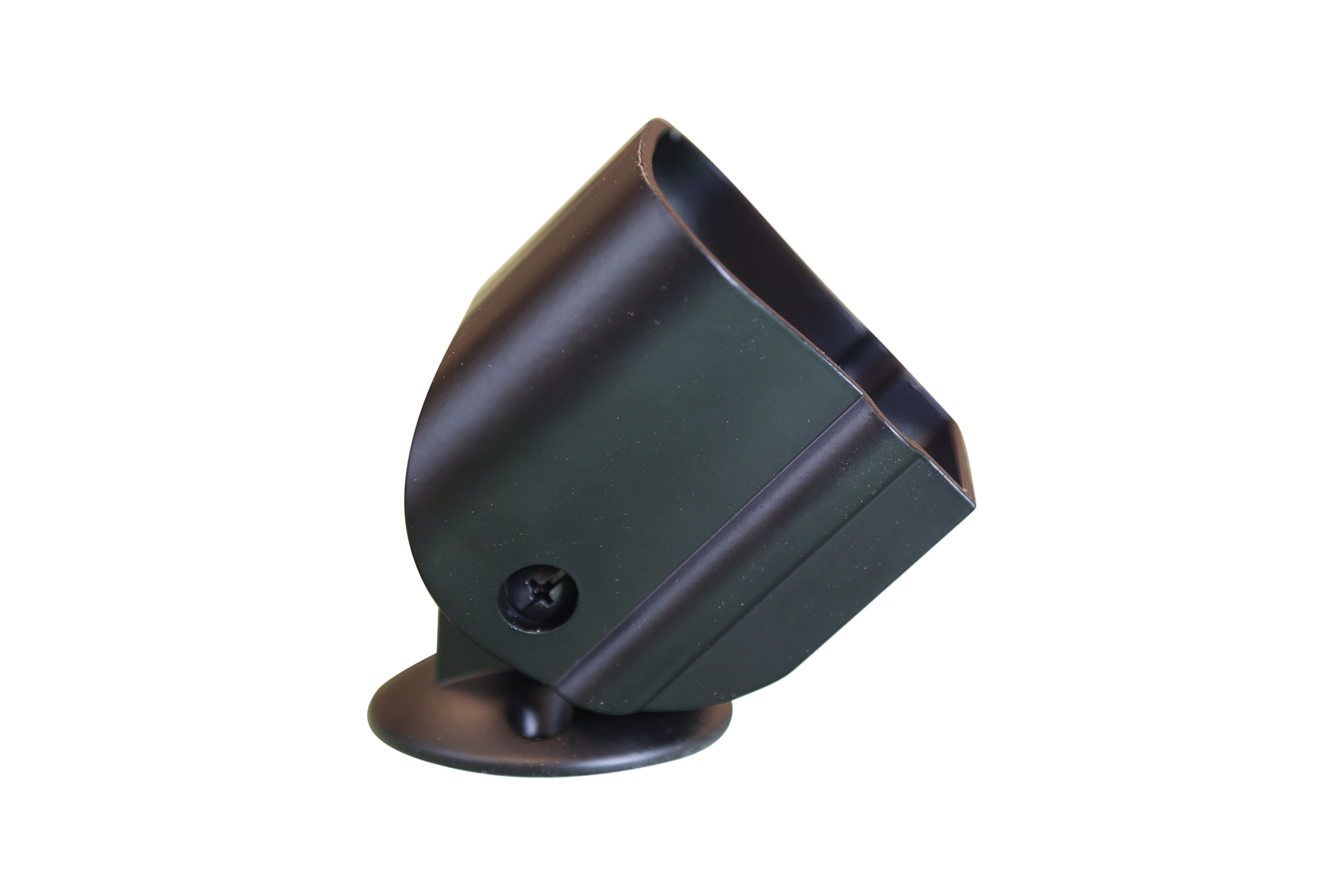 6010 Handrail Semi Gloss Black Metal Bracket Connector (for Post to Post, Post to Wall, Wall to Wall)