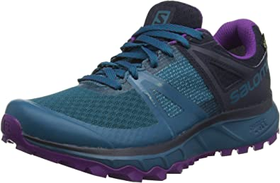 | SALOMON Women's Trailster GTX Shoes Deep Lagoon