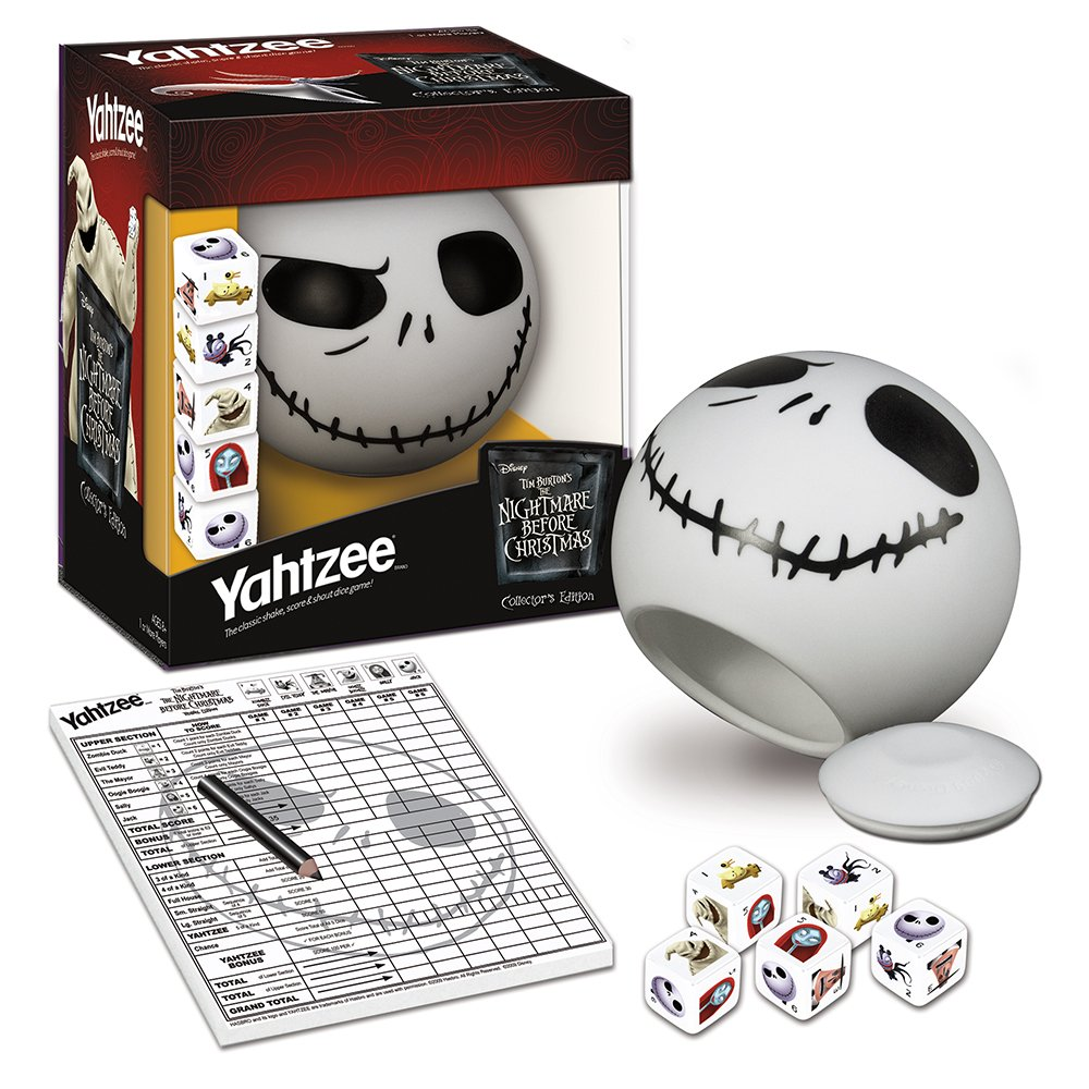 Amazon.com: YAHTZEE Tim Burton's The Nightmare Before Christmas ...