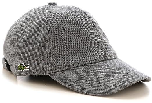 432d039fdc7 Lacoste Men s RK9812-00 Green Croc Petit Pique Cotton Cap Grey (Small)