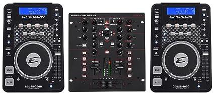 Amazon.com: (2) Epsilon cdusb-7000 mesa DJ Scratch CD/MP3 ...