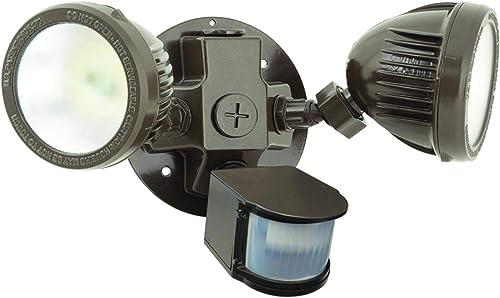 Hubbell Industrial ML-2L3K-1-DB LED Twin Head Motion Sensor Kit, Dark Bronze