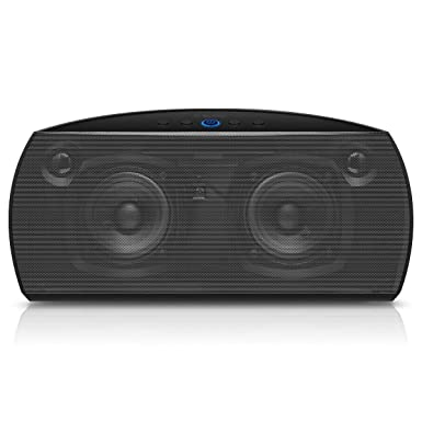 Yoyamo Premium Stereo Bluetooth 4.0 Speaker with Protective Carrying Case, 20W Audio Output from Dual 10W Drivers, Portable Wireless Speaker for iPhone, iPad, Samsung, Nexus, HTC and More