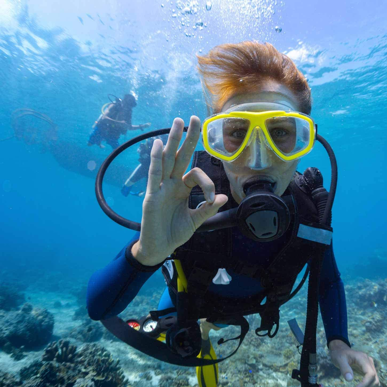 El set de esnórquel »Mermaid« set de buceo : Gafas de buceo + aletas de  natación + esnórquel / buceo / Swim Mask / Tubo respirador / Aletas /  Conjunto de snorkel