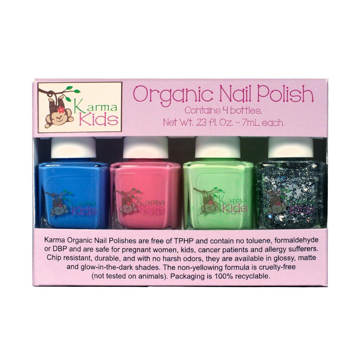 Amazon.com: Karma Kids Box Set No. 2 - Nail Polish; Non-Toxic, Vegan ...