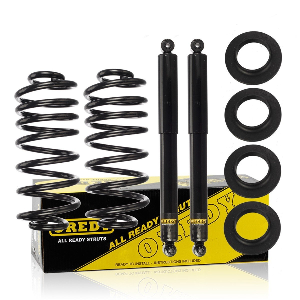 Gmc Envoy Air Suspension Conversion Rear Oredy To Coil Spring For Kit Automotive 1200x1200