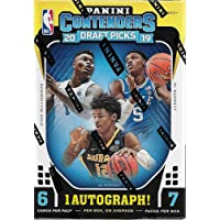 $29 » 2019 2020 Panini Contenders DRAFT PICKS Basketball Series Unopened Blaster Box of Packs with One Autograph Card and a chance for Zion Williamson