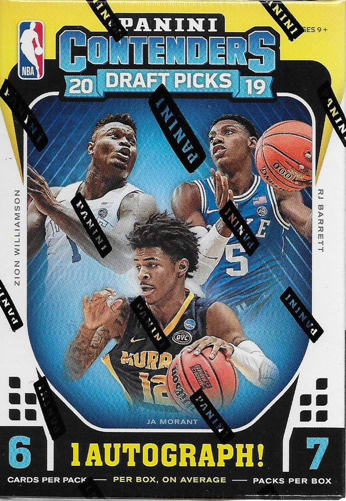 Nba Games 2020.2019 2020 Panini Contenders Draft Picks Basketball Series Unopened Blaster Box Of Packs With One Autograph Card And A Chance For Zion Williamson