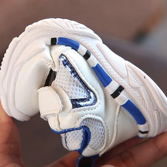 Zapatilla De Deporte,ZARLLE Zapatos Deportivos OtoñAles Zapatillas Deportivas NiñOs Calzado Infantil Zapatos Para Bebe Zapato De Malla Antideslizante ...