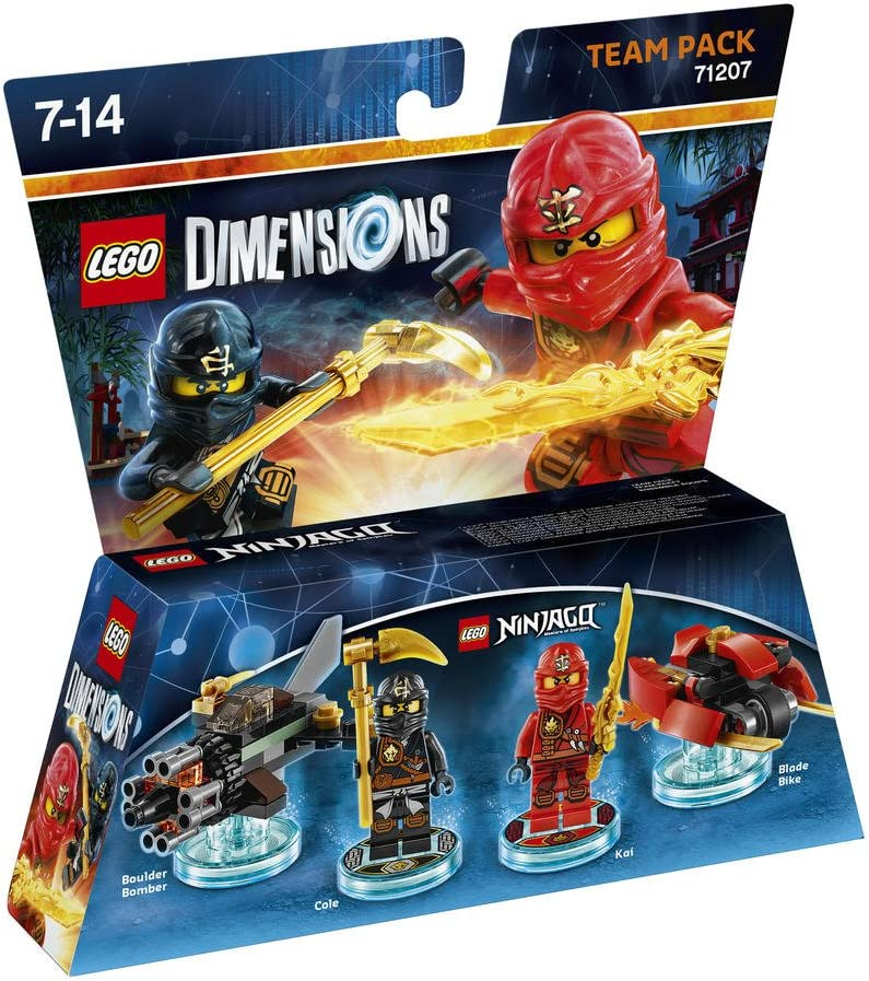 Warner Bros Interactive Spain Lego Dimensions - Ninjago: Amazon.es: Videojuegos