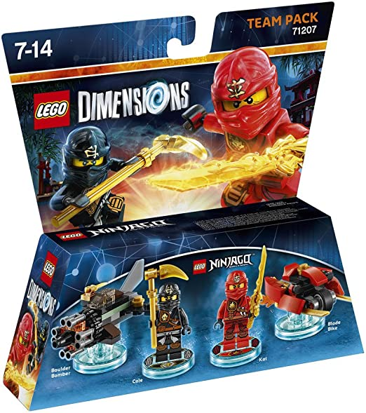 Warner Bros Interactive Spain Lego Dimensions - Ninjago: Amazon.es ...