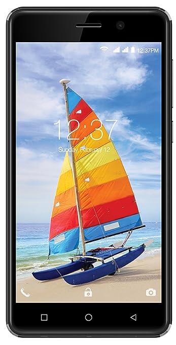 Intex Aqua Strong 5.1+  Black  Smartphones