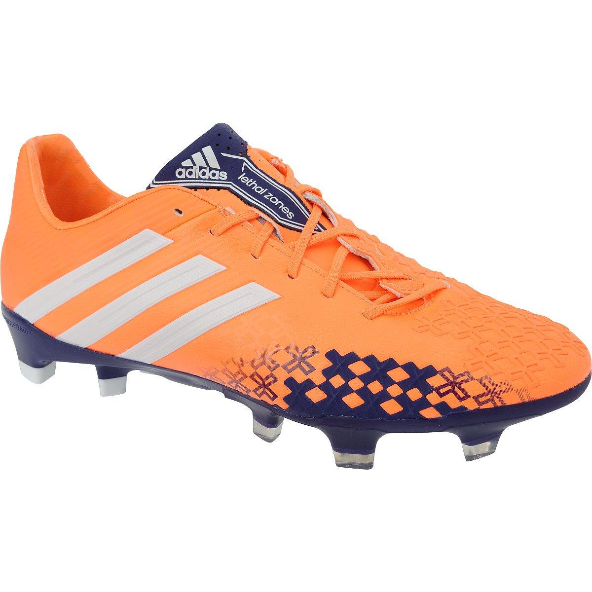 9ba7735b8a510 Amazon.com   adidas Predator LZ TRX FG Soccer Shoes Orange/Blue Size ...