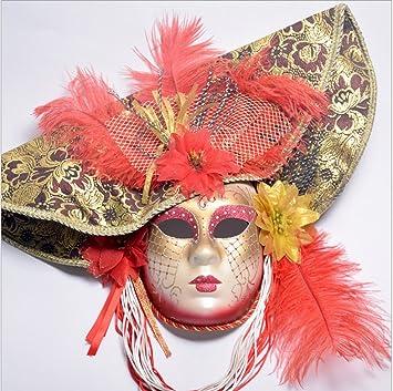 Mascarilla veneciana romana griega para Halloween, disfraces, fiestas, decoración, suministros máscara con