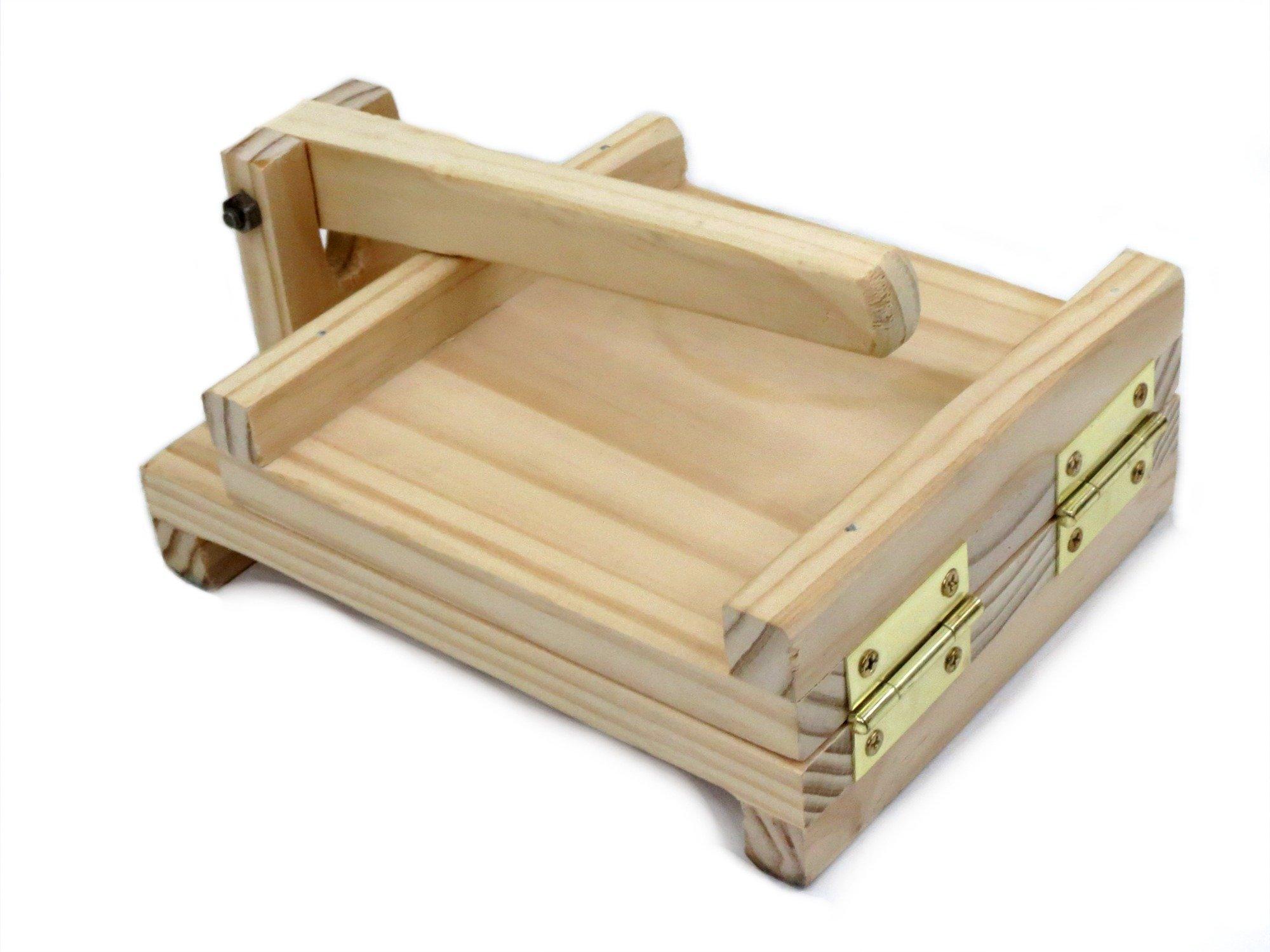 Traditional Wood Tortilla Press Tortilla Maker 7.5''