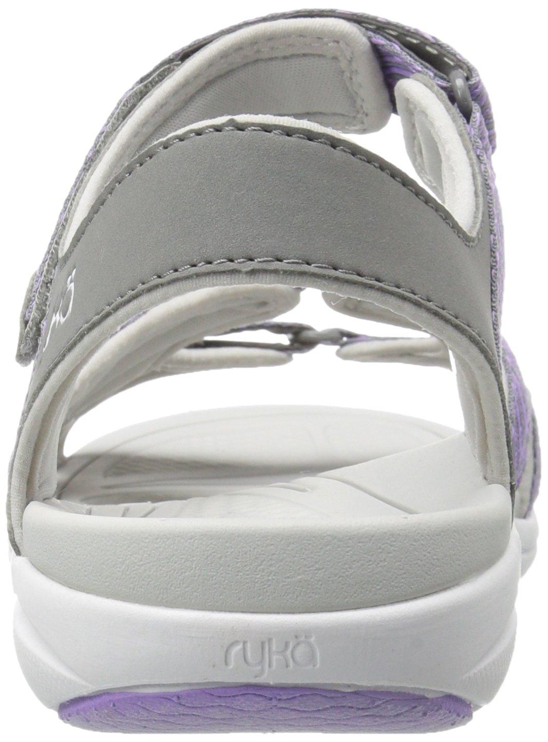 Ryka Women's Savannah Sandal B01KWH4DCG 11 B(M) US Grey/Purpl