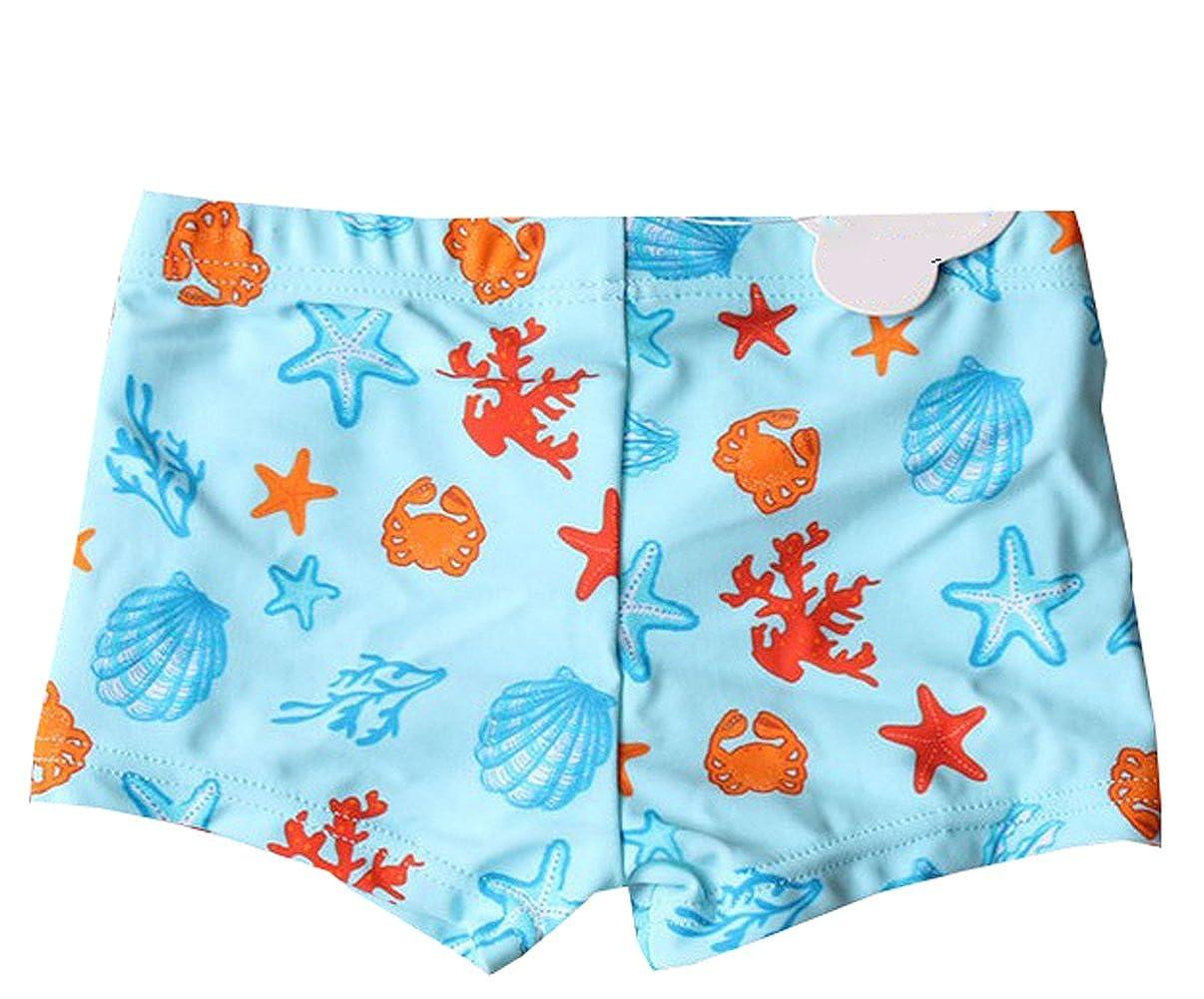 Fashion Baby Newborn Infant Baby Boys Swim Shorts Starfish Beach Swim Bottom