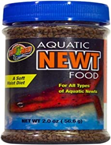 Zoo Med Aquatic Newt Food, 2-Ounce