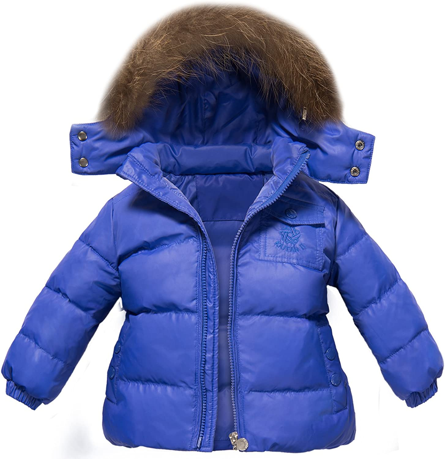 Newest Children Girls Clothing Sets Winter Hooded Duck Down Jacket Trousers Snowsuit Warm Clothes ZOEREA Unisex Baby Winter Snowsuit