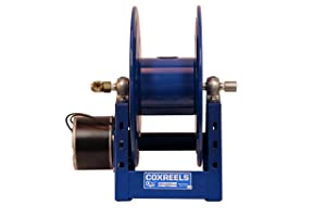 "Coxreels 1125-4-100-E Electric 12V DC 1/3HP Motor Rewind Hose Reel: 1/2"" I.D., 100' hose capacity, less hose, 3000 PSI"