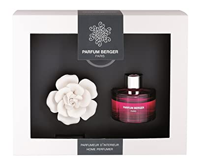 maison berger lavender fields mini flower diffuser pink