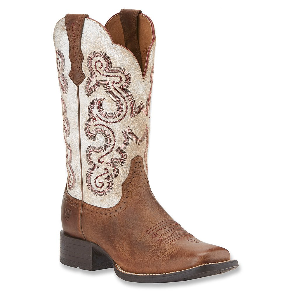Ariat Women's Quickdraw Work Boot B00O822OHI 6 C/D US|Sandstorm