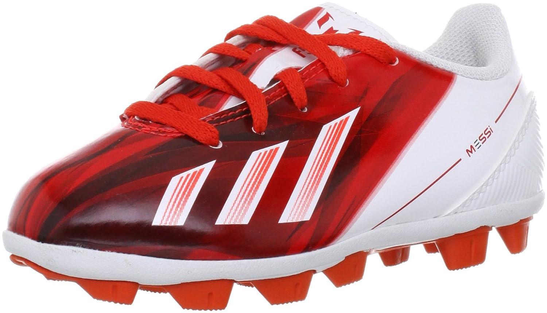 Adidas F5 TRX HG Messi Kinder Fußballschuhe, Rot
