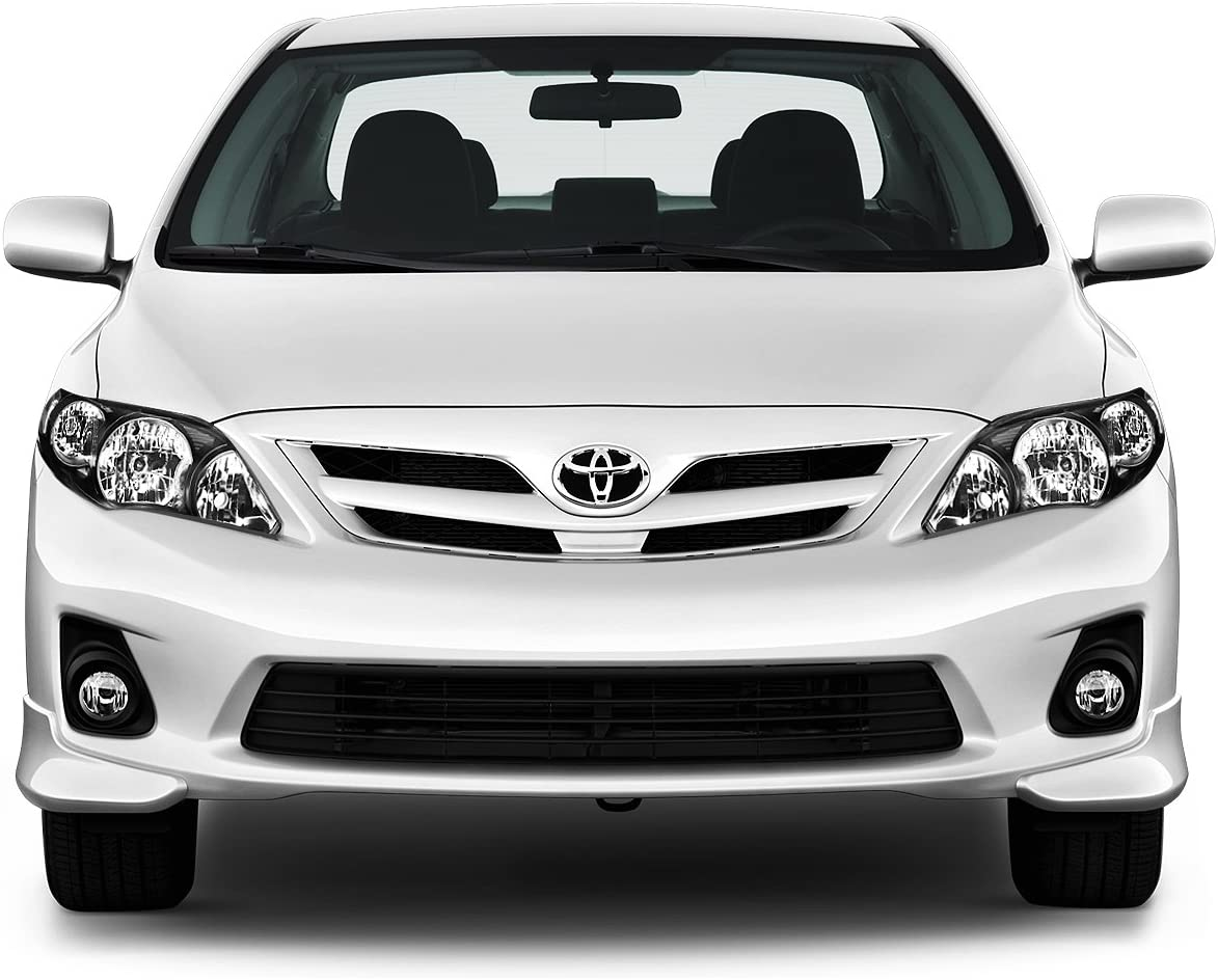 Driver /& Passenger Side DNA Motoring HL-OH-TCOR11-BK-AM Headlight