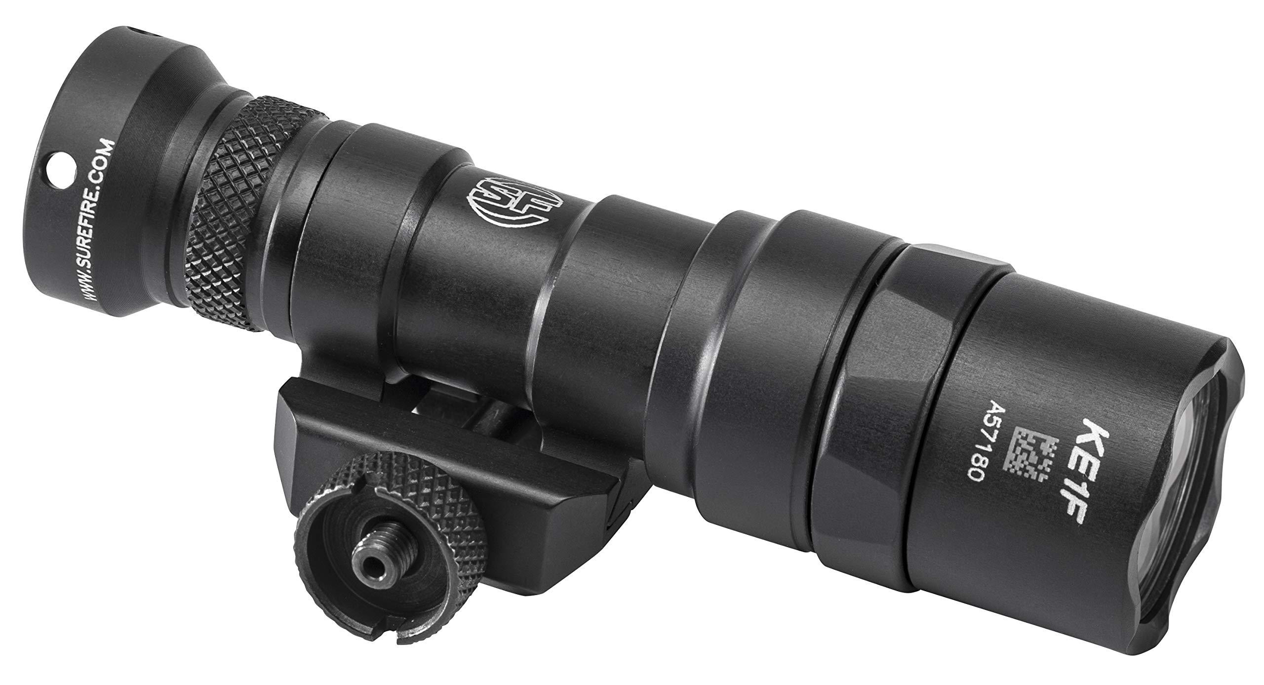 SureFire M300 Mini Scout M300 Mini Scout Light w/Z68 Click-Type tailcap pushbutton Switch, Black, Black by SureFire (Image #2)
