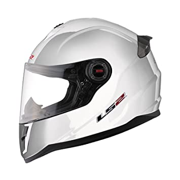 LS2 Casco, Blanco, L