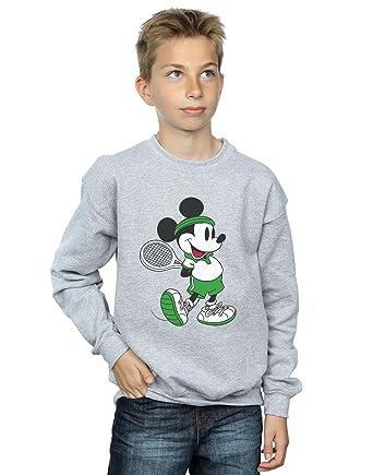 Disney niños Mickey Mouse Tennis Camisa De Entrenamiento: Amazon.es: Ropa y accesorios