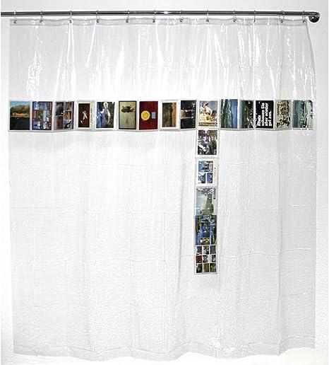 100/% Polyester 200x180 cm Multicolor poli/éster Spirella colecci/ón Abella Grey//Pink Cortina de Ducha Textil 180 x 200
