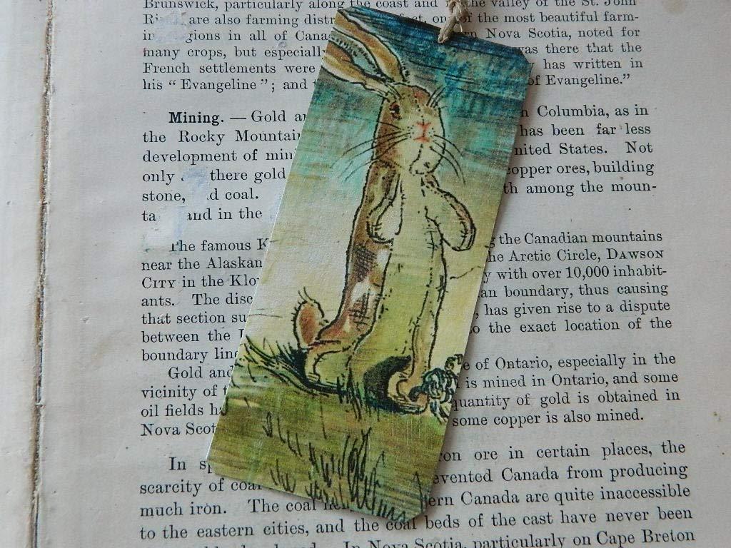 Velveteen Rabbit bookmark Art bookmark metal bookmark