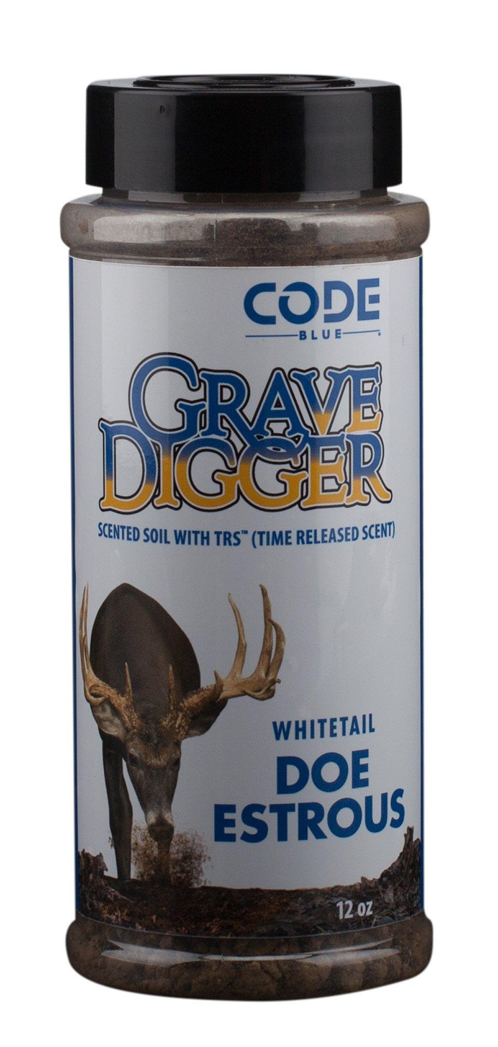 Code Blue Grave Digger Doe Estrous 12 oz