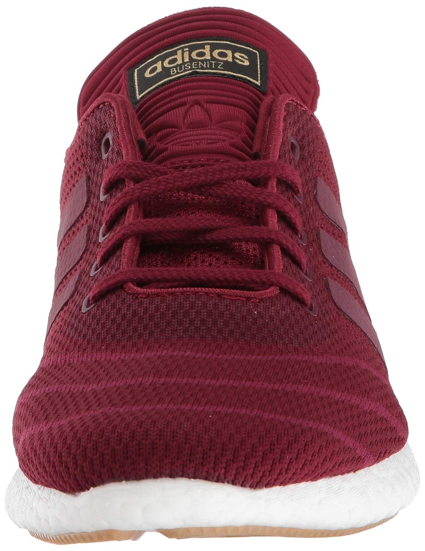 Adidas | Mens White Adidas Boost Busenitz Pure Boost PK Collegiate BurgundyMystery RubyFootwear White