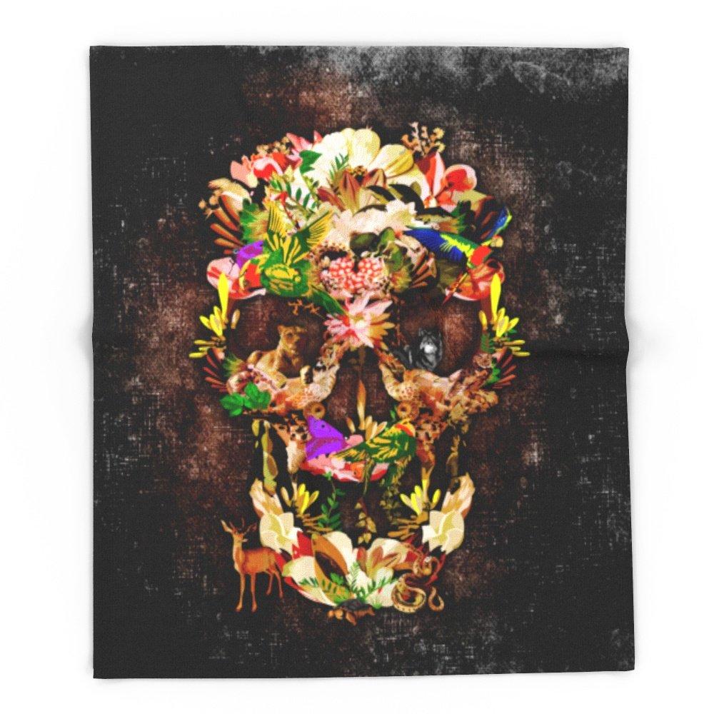 Society6 Animal Kingdom Sugar Skull IPhone 4 4s 5 5s 5c 6, Ipod, Ipad, Pillow Case And Tshirt 88'' x 104'' Blanket