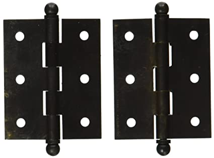 """5 FINISHES HINGE CABINET HIGHEST QUALITY 2 1//2/"""" SOLID BRASS SOLD AS EACH"""
