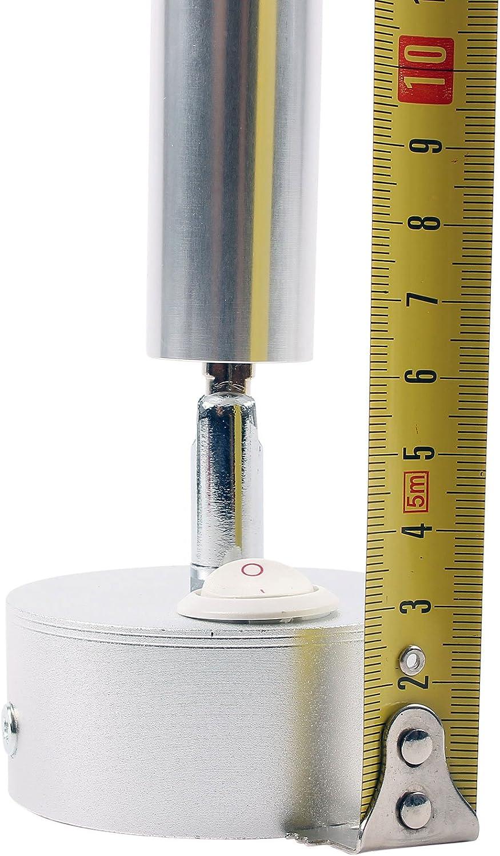 /Ø65/x 65 120LM 130/mm Lot de 2/Caravane Camping-Car Bateau /Éclairage int/érieur LED Spots Orientable 12/V interrupteur on//off