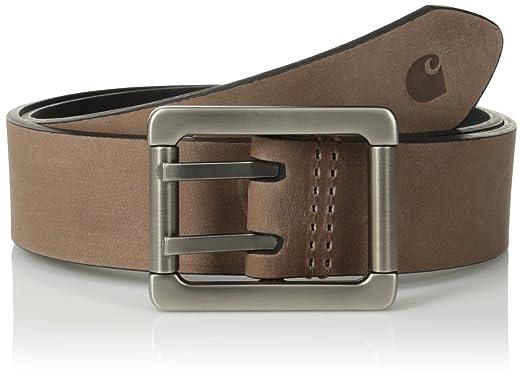2fd81b7034 Carhartt Men's Center Bar Belt, Reversible, 38 at Amazon Men's Clothing  store: Apparel Belts