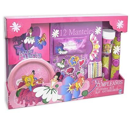 CIFE - Kit Cumpleaños Princesas (41122): Amazon.es: Juguetes ...