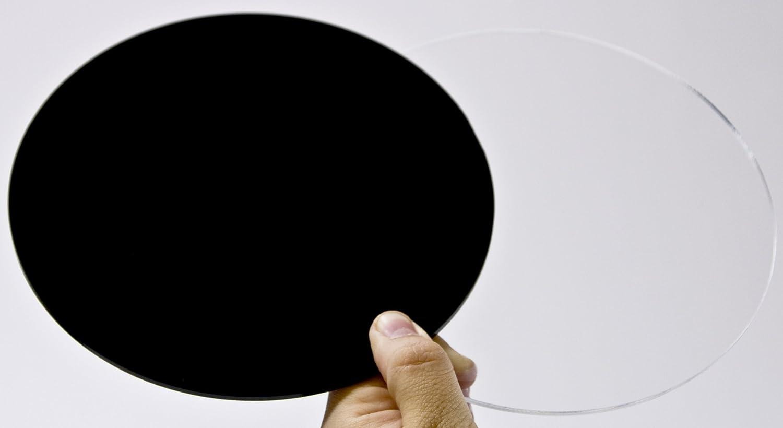 Plexiglas/® transparent 29 cm Durchmesser Kreiszuschnitt aus Acryl 3mm XT