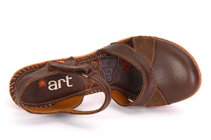 ART Damen 0313 Memphis Amsterdam Sandalen mit Knöchelriemen  Amazon.de   Schuhe   Handtaschen e5ebe3b4a4