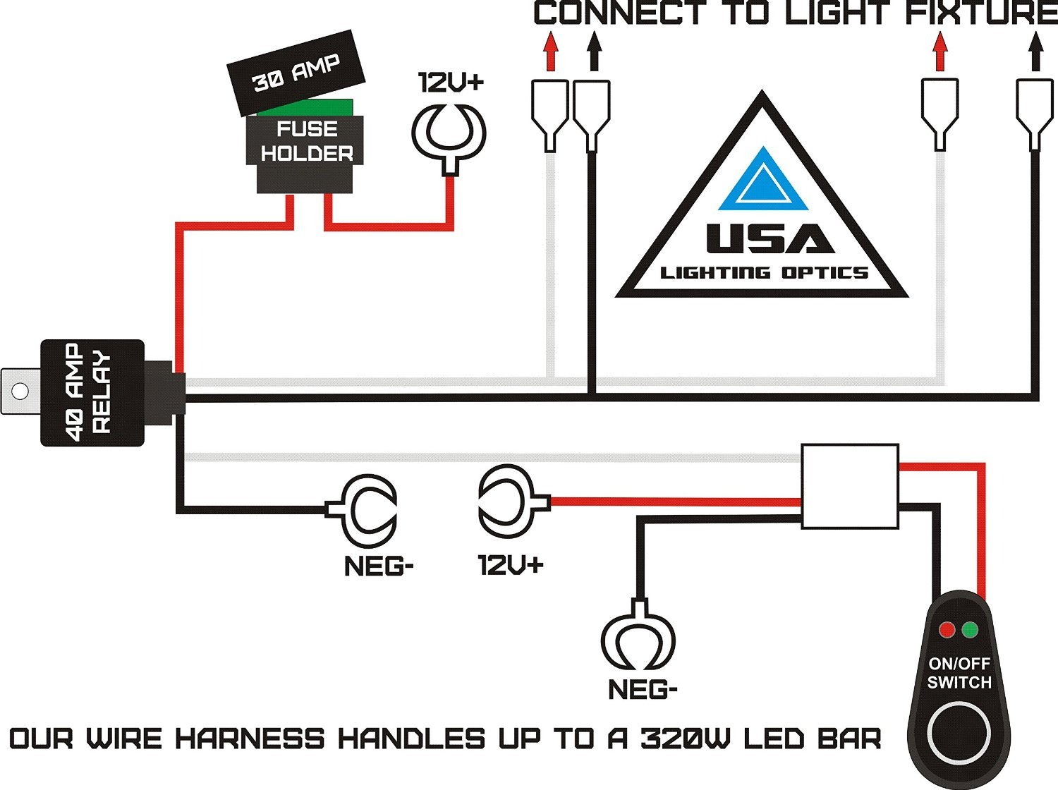 3 off road light wiring harness wiring diagram options off road light wiring diagram hd relay light bar wire harnesses