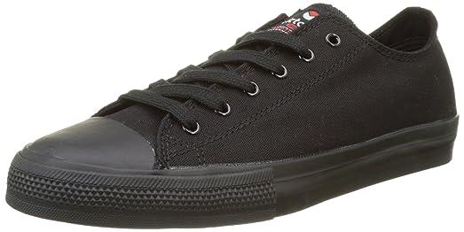 Victoria Zapatillas 06552 - Zapatilla Suela Negra Estilo Basket Negro, Color Negro, Talla 37