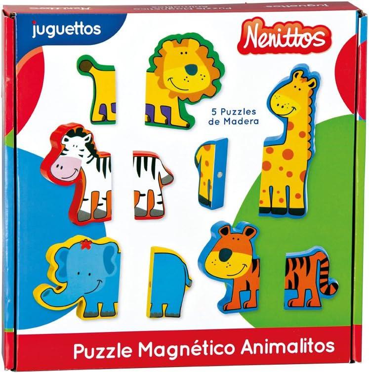 Nenittos Puzzle Magnético Animalitos: Amazon.es: Juguetes y juegos