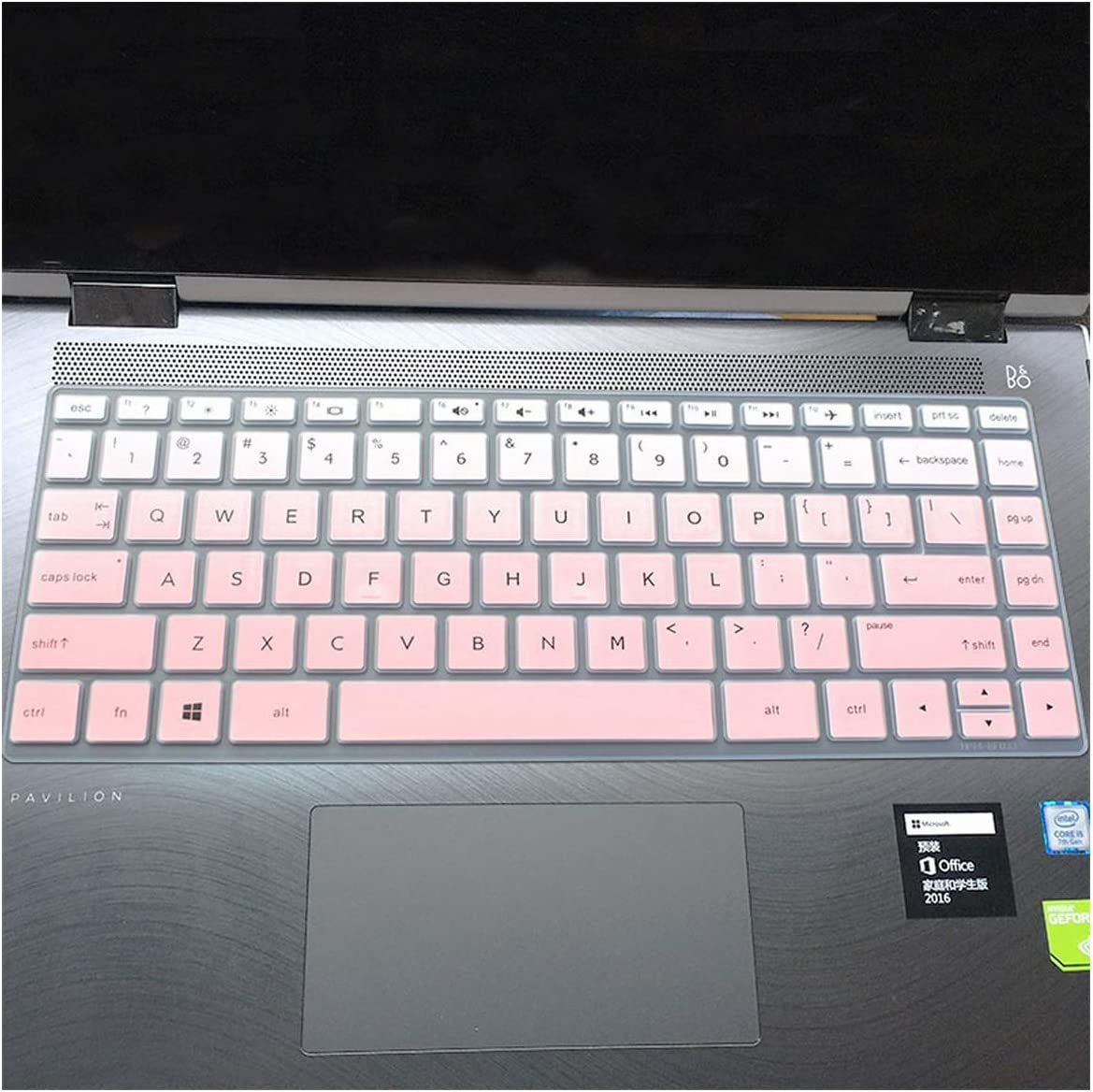 13.3 Inch Laptop Keyboard Cover Protector for Hp Envy X360 13 Ag0002La 13 Ag0001La 13 Ag0000Au 13 Ag0000Au 13 Ag Notebook Skin-in Keyboard Covers from Computer /& Office,Fadepink