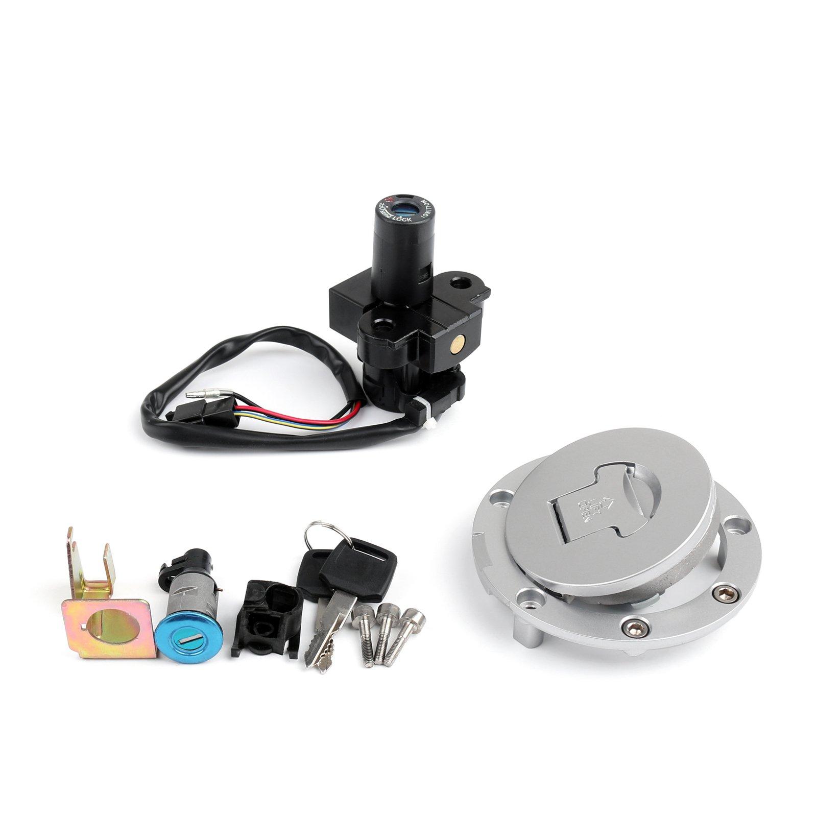 Areyourshop Ignition Switch Lock & Fuel Gas Cap Key Set For Honda CBR1100XX 1996-1998 1997